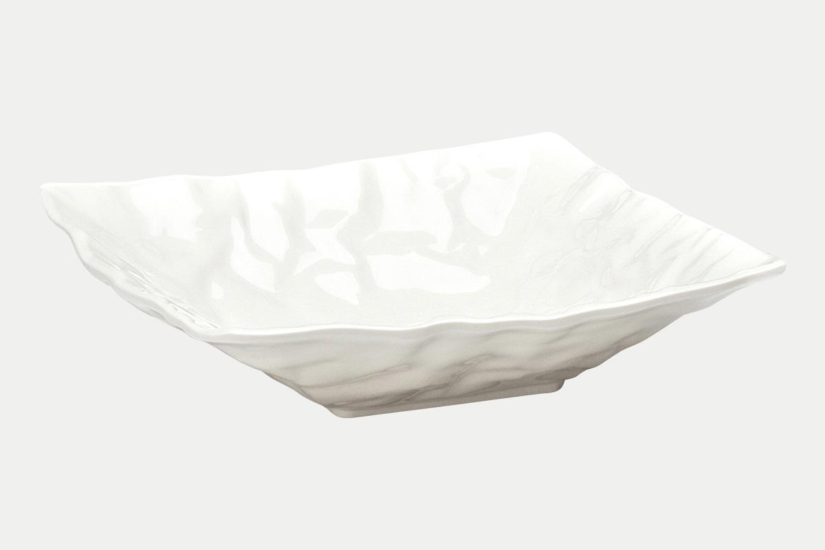 縮緬紙深皿  白  30角