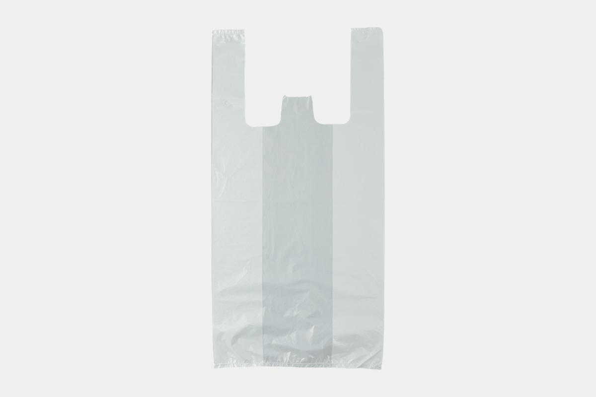 レジ袋  M  乳白