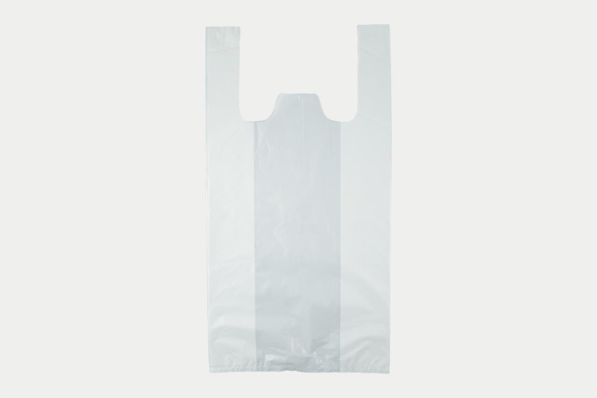 レジ袋  L  乳白
