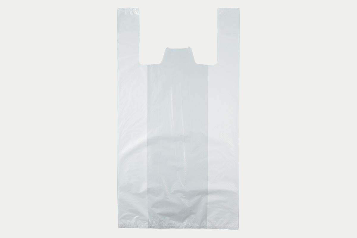 レジ袋  LL  乳白