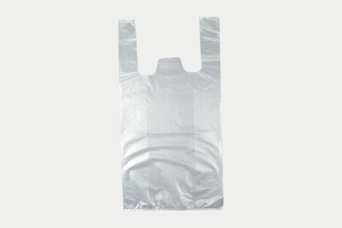 レジ袋  L  半透明
