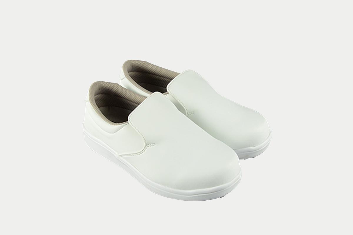 短靴シェフグリップ白22.5cm