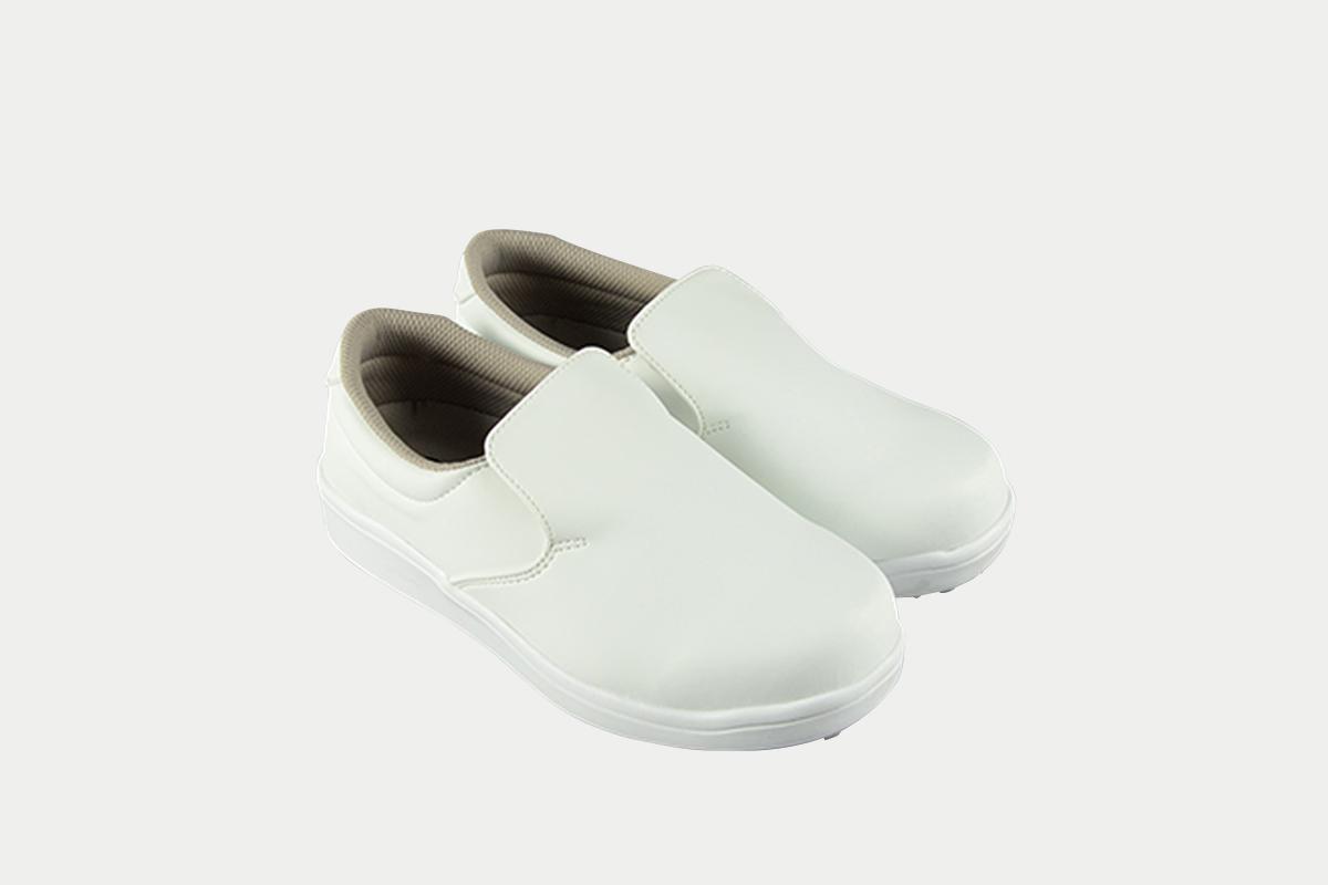 短靴シェフグリップ白24.0cm