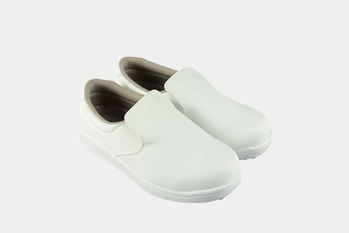 短靴シェフグリップ白26.0cm