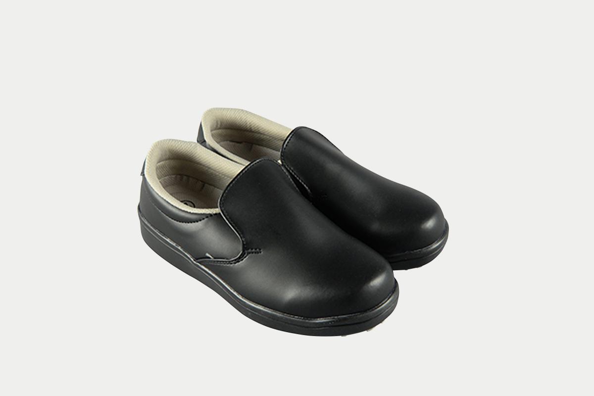短靴シェフグリップ黒22.5cm