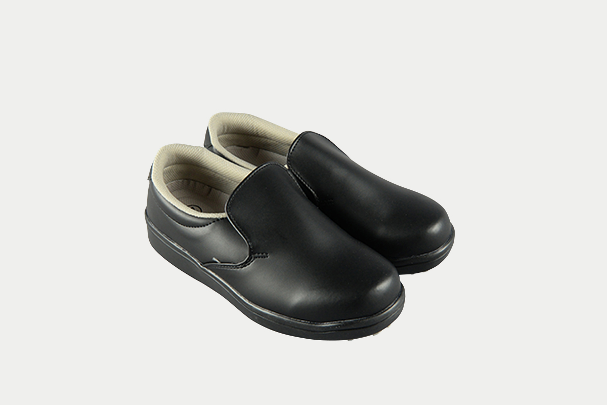 短靴シェフグリップ黒26.0cm