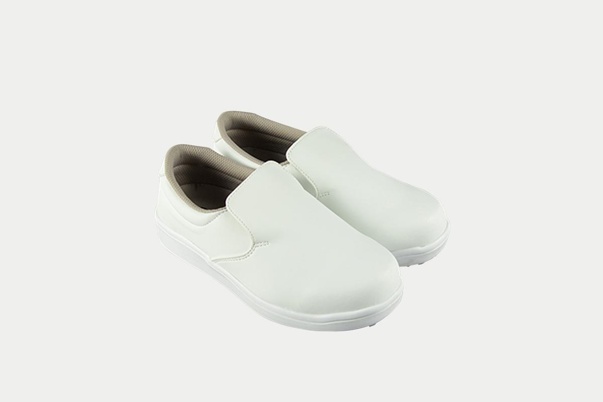 短靴シェフグリップ白27.5cm