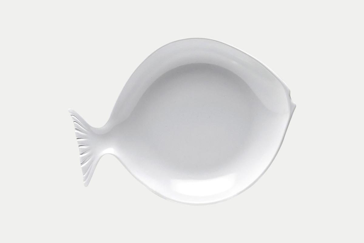 フィッシュプレート  白