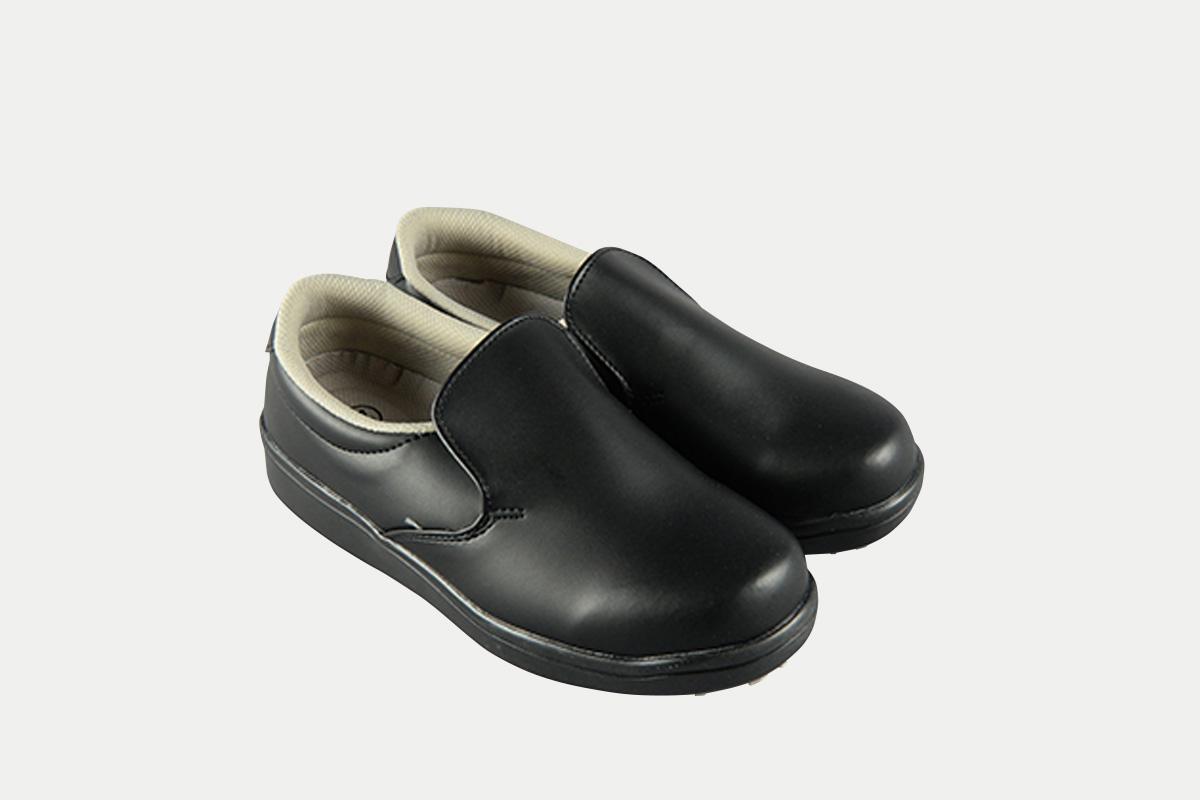 短靴シェフグリップ黒30.0cm