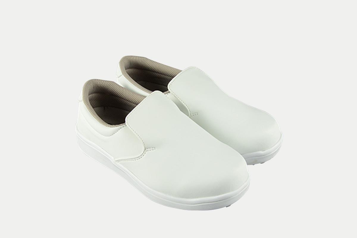 短靴シェフグリップ白30.0cm