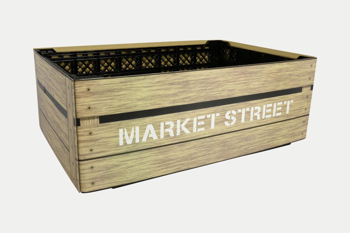 コンテナスリーブ  木箱