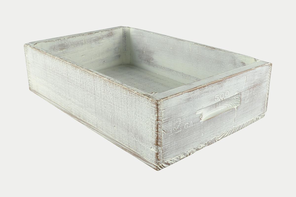 ヴィンテージBOX  小  WH