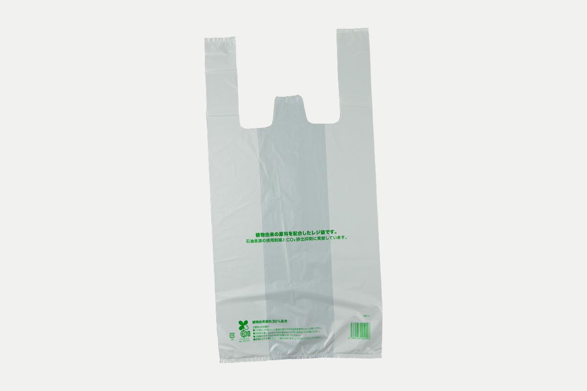 バイオマスレジ袋30  M  乳白