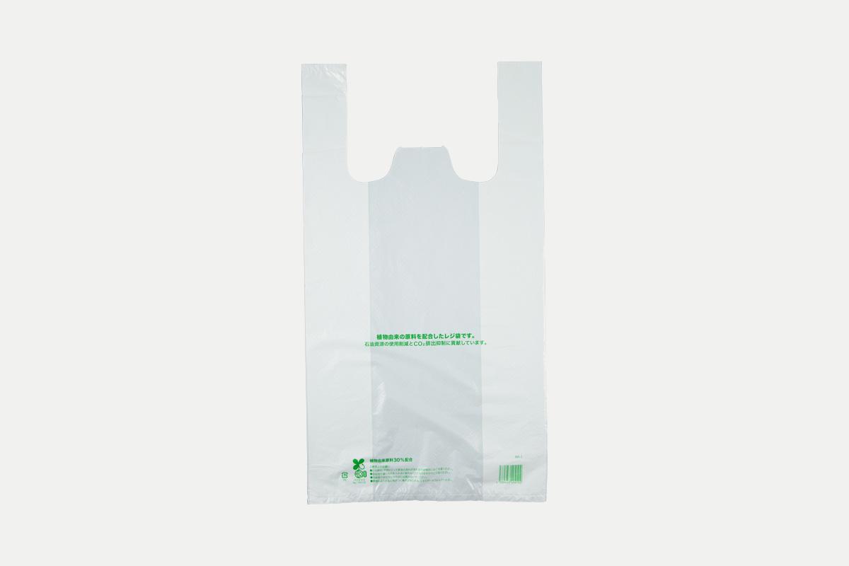 バイオマスレジ袋30  L  乳白
