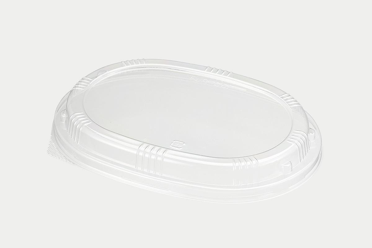 ファルカタ楕円170-120  透明蓋