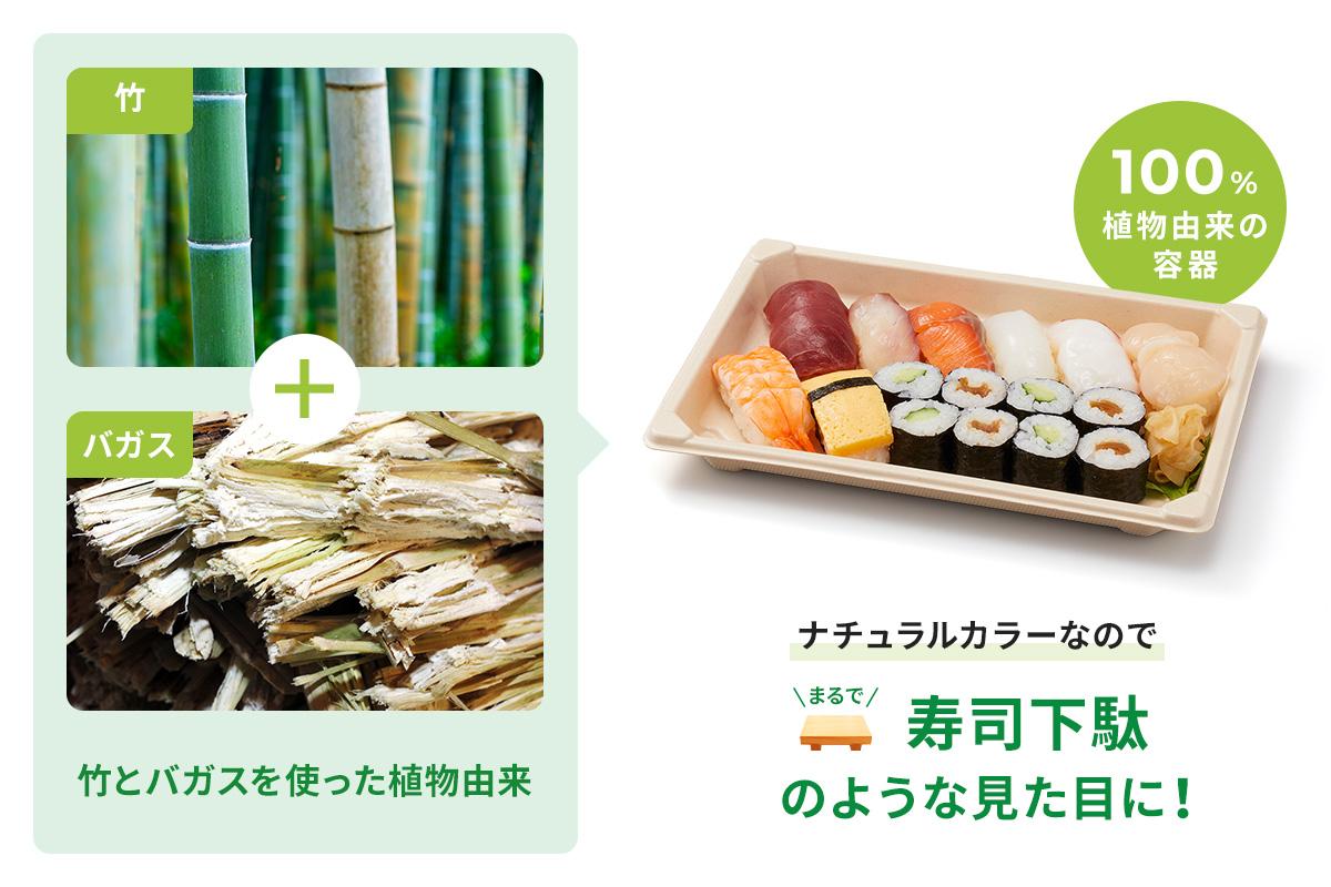 BB寿司容器S-10  ラミ